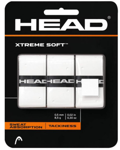 Head Xtreme Soft x 3 weiß