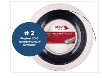 MSV Focus HEX Ultra 1.25 black