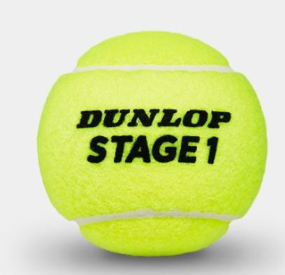 Dunlop Mini Tennis Stage 1 green 1er