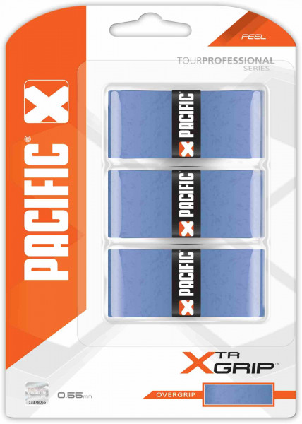Pacific xTR Grip blau 3er