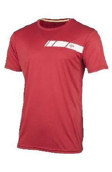 Dunlop Men Crew Tee red/white