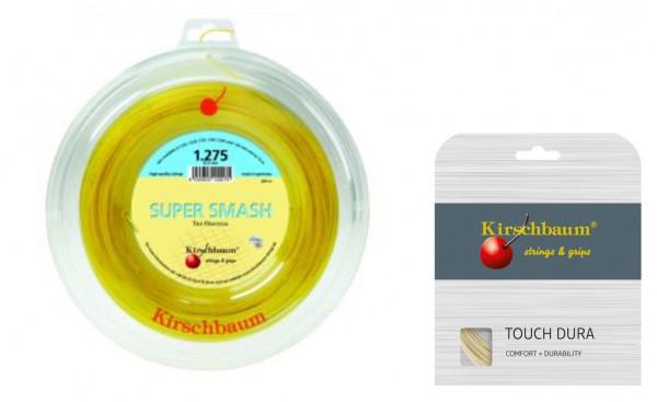 Kirschbaum Super Smash 1.20 inkl. 1 Set 12m Kirschbaum Touch Dura 1.25