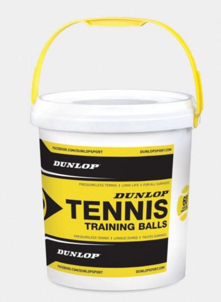 Dunlop Training (drucklos), gelb 60 Stück im Eimer