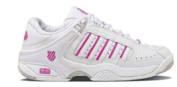 K-Swiss Defier RS White/Very Berry