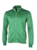 Dunlop Men Club Line Knitted Jacket green/white