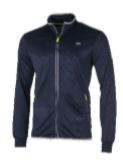 Dunlop Men Club Line Knitted Jacket navy/royal blue