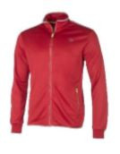 Dunlop Men Club Line Knitted Jacket Red/white