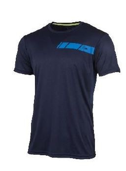 Dunlop Men Crew Tee navy/royal blue