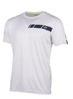 Dunlop Men Crew Tee white/navy