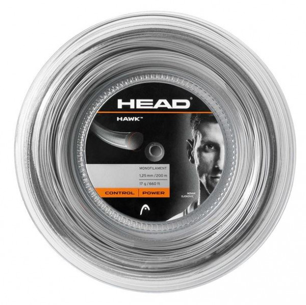 Head Hawk 1.25 platinum grey