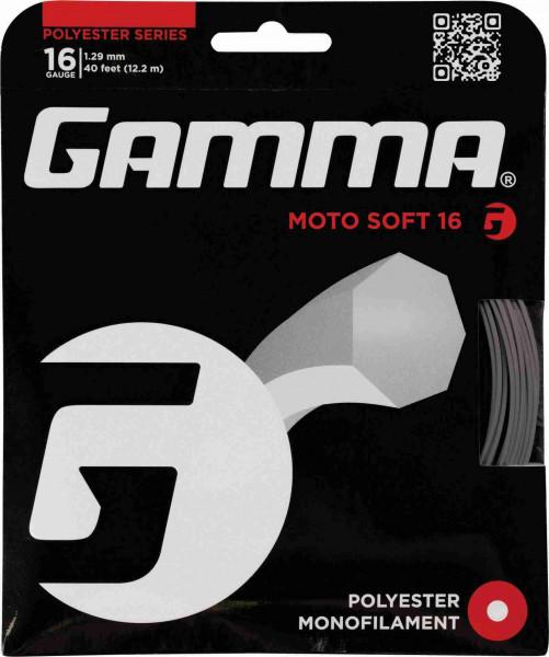 Gamma Moto Soft 17 charcoal