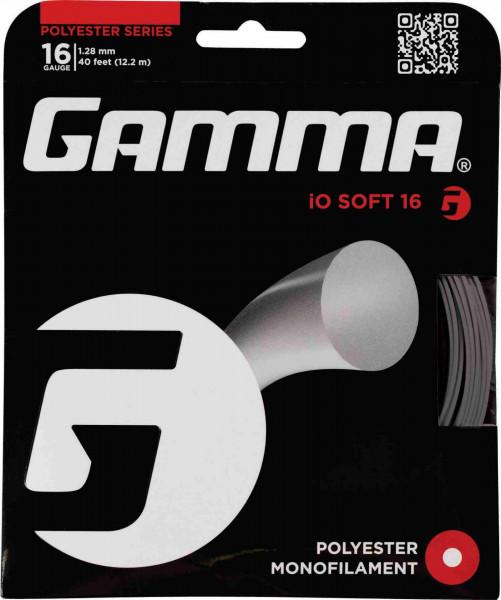 Gamma iO Soft 17 charcoal