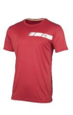 Dunlop Boy Club Line Crew Tee, red