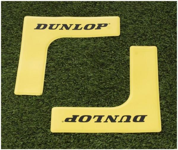 Dunlop Markierungsecke 8er Pack gelb