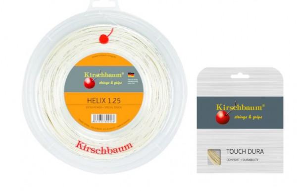 Kirschbaum Helix 1,25 inkl. 1 Set 12m Kirschbaum Touch Dura 1.25