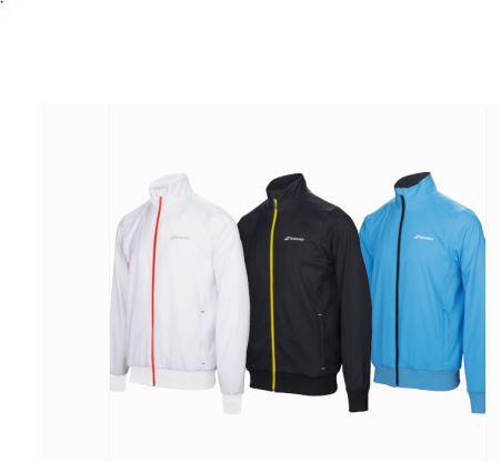Babolat Core Club Jacket schwarz -Auslaufartikel-