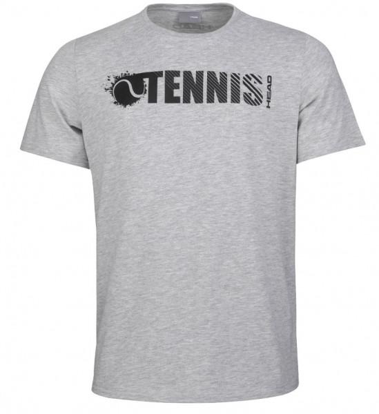 Head Vision Font T-Shirt grey melange